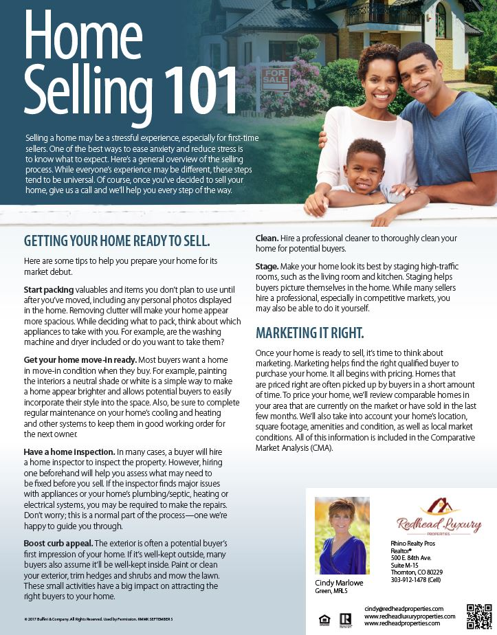 Home Selling 101